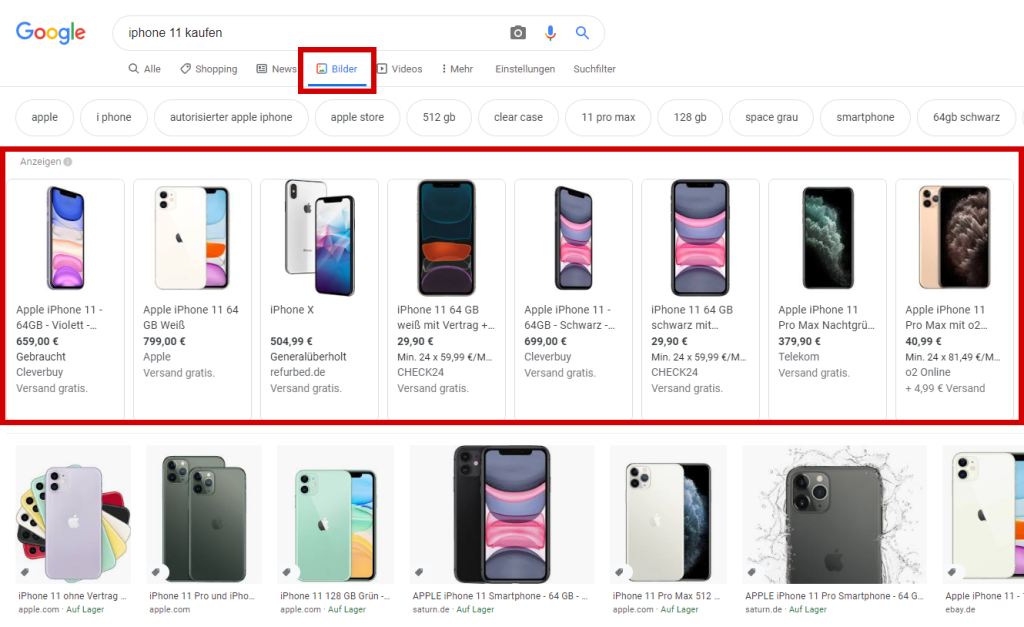 google shopping ads beispiel 3