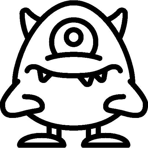 Standard Monster ohne Farbe