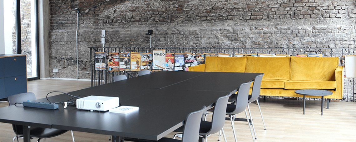 Das Büro der Marketing Monsters zweite Etage